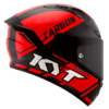 Casco KYT NX Race Carbon Red