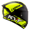 Casco KYT NX Race Carbon Yellow