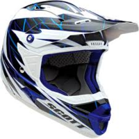 Casco Scott Airborne Grid blu